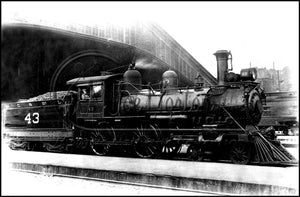 NC&St.L Engine No. 43 at Union Station