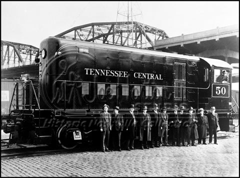 First Diesel Locomotive in Nashville
