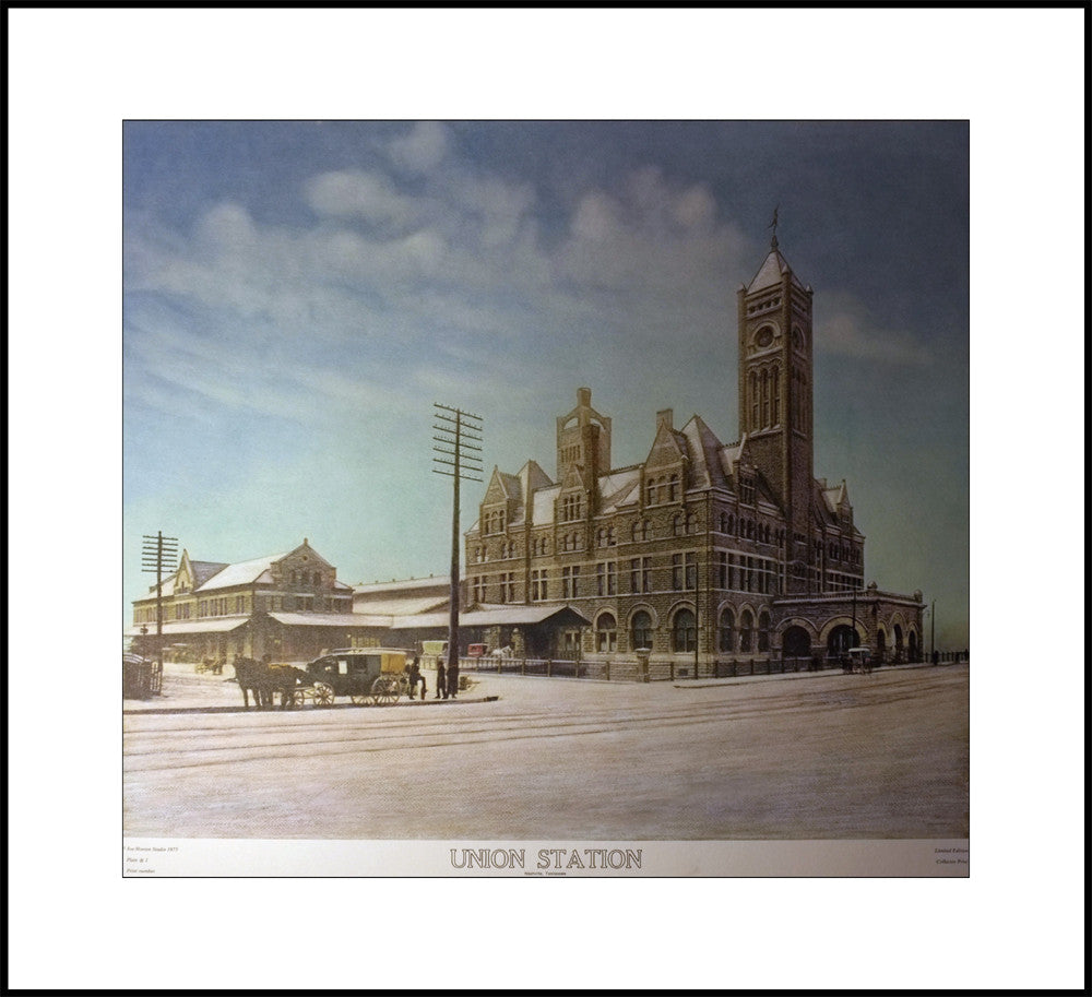 Union Station Lithograph