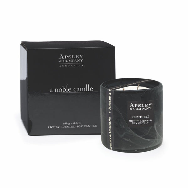 Apsley & Company geurkaars Tempest Noble 400 gram