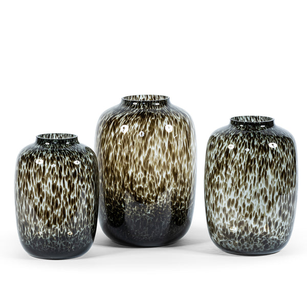 Vaas Bulb spotted leopard grey M