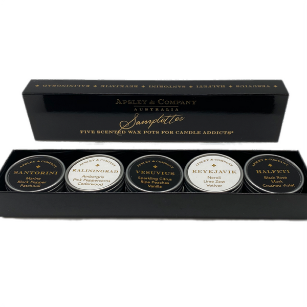 Apsley & Company samplettes gift set