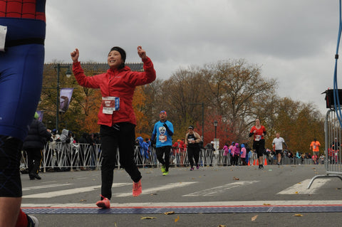 Philadelphia Marathon Finish Line