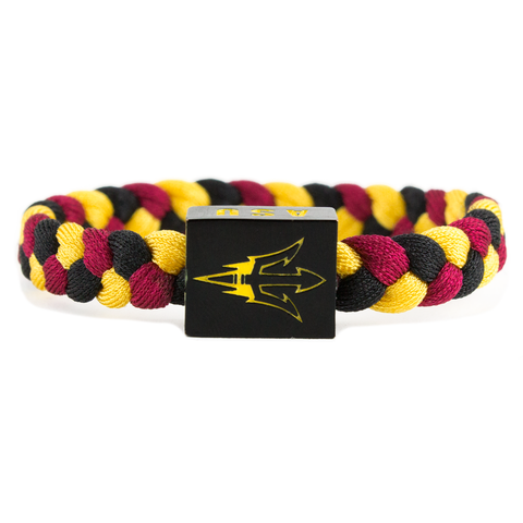 Arizona State Glass-U Woven Bracelet