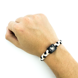 Army woven bracelet by Glass-U