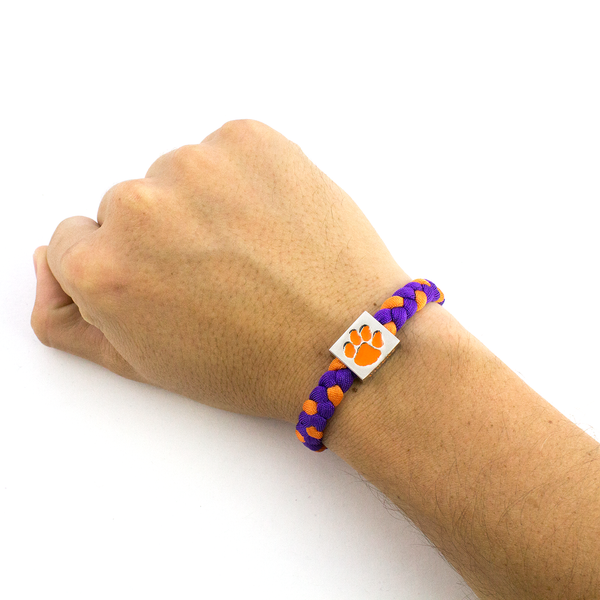 Clemson University Bracelet by Glass-U