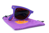 Glass-U Clemson Tigers sunglasses with matching microfiber pouch
