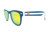 Colorado State Flag Sunglasses by Glass-U