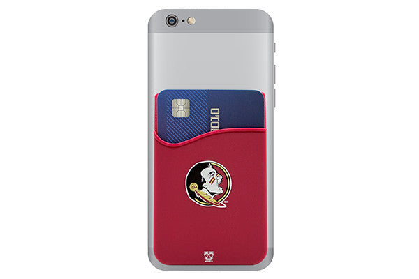 Glass-U Florida State Seminoles phone wallet