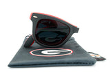 Glass-U Georgia Bulldogs Sunglasses with matching microfiber pouch