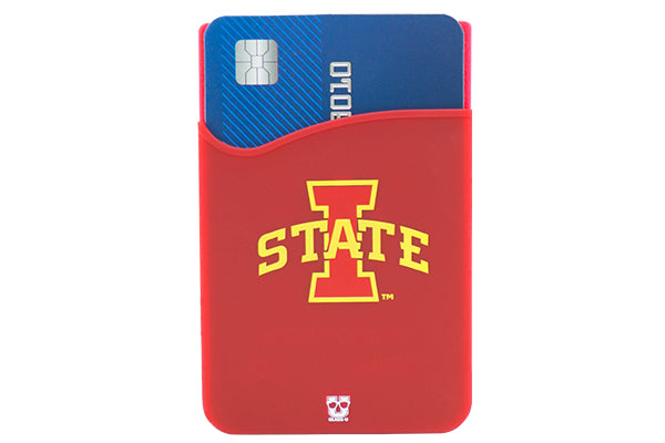Glass-U Iowa State Cardinals phone wallet