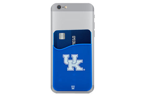 Glass-U Kentucky Wildcats phone wallet on phone