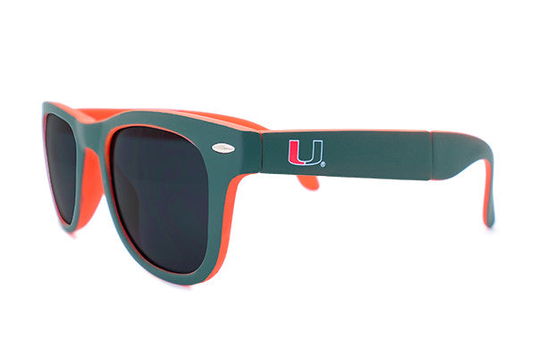 Glass-U Miami Hurricanes Sunglasses