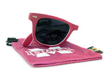 Glass-U Mississippi State Bulldogs Sunglasses with matching microfiber pouch