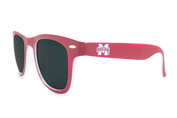 Glass-U Mississippi State Bulldogs Sunglasses