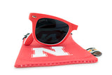 Glass-U Nebraska Cornhuskers Sunglasses with matching microfiber pouch