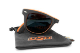 Glass-U Oklahoma State cowboys sunglasses with matching microfiber pouch