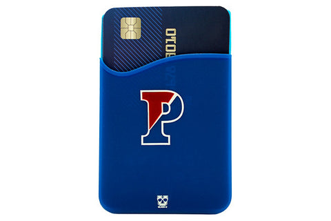 Glass-U UPenn Quakers phone wallet on phone