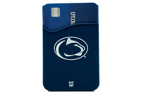 Glass-U Penn State Nittany Lions phone wallet on phone
