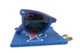 Glass-U UPenn Quakers sunglasses with matching microfiber pouch