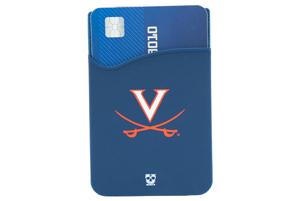 Glass-U University of Virginia Cavaliers phone wallet on phone