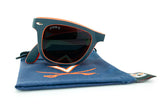 Glass-U University of Virginia Cavaliers sunglasses with matching microfiber pouch