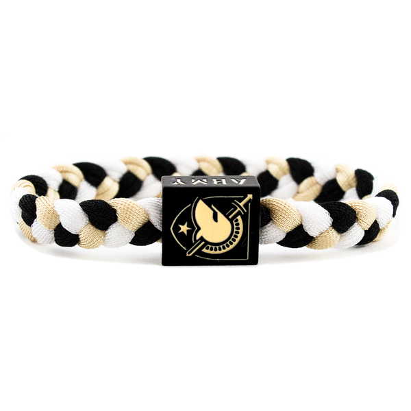 Glass-U Army West Point woven bracelet