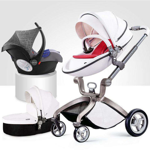 Hotmum 2 in 1 + 3 in 1 Stroller - Car Seat - Bassinet-Dear Baby