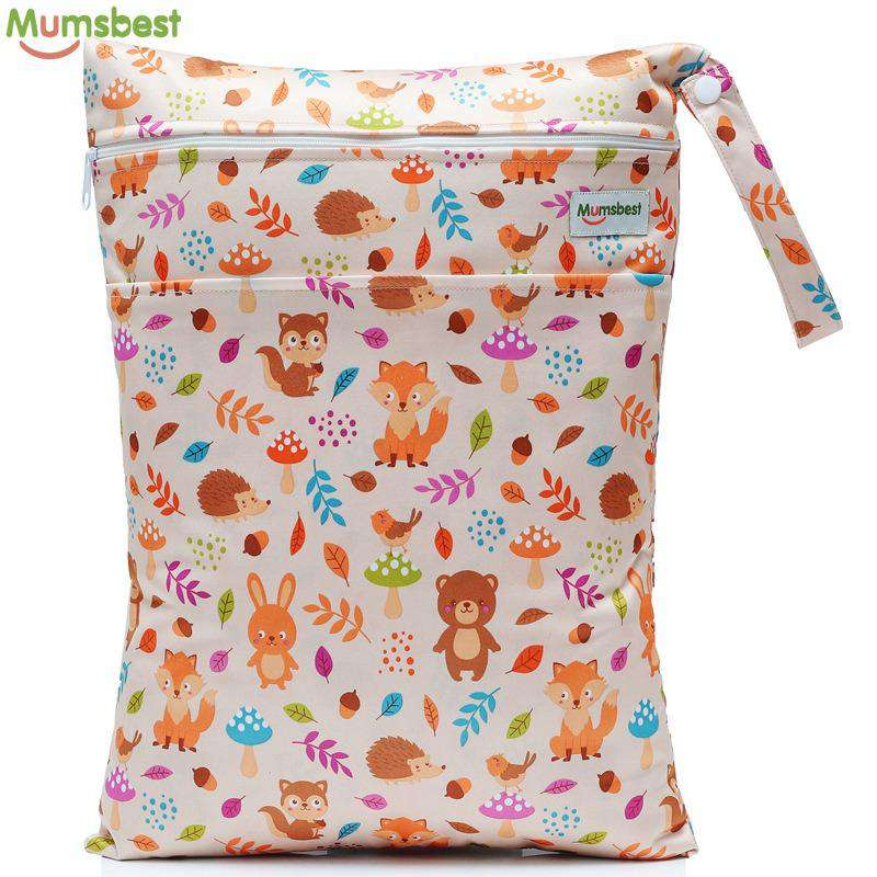 62d6a92de7769b Small Single Wet Nappy Bag Waterproof (12 Colours)-Dear Baby. Hover to zoom