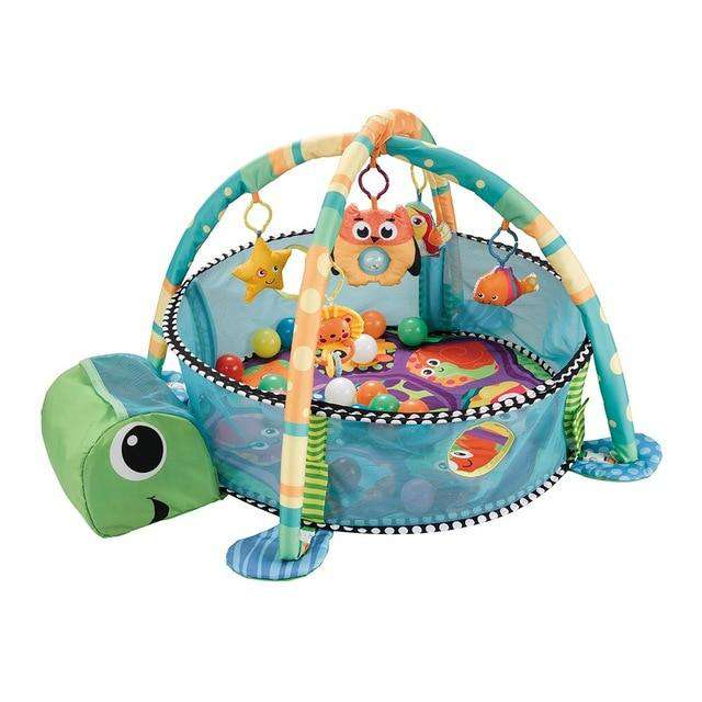Turtle Portable Baby Play Gym Dear Baby