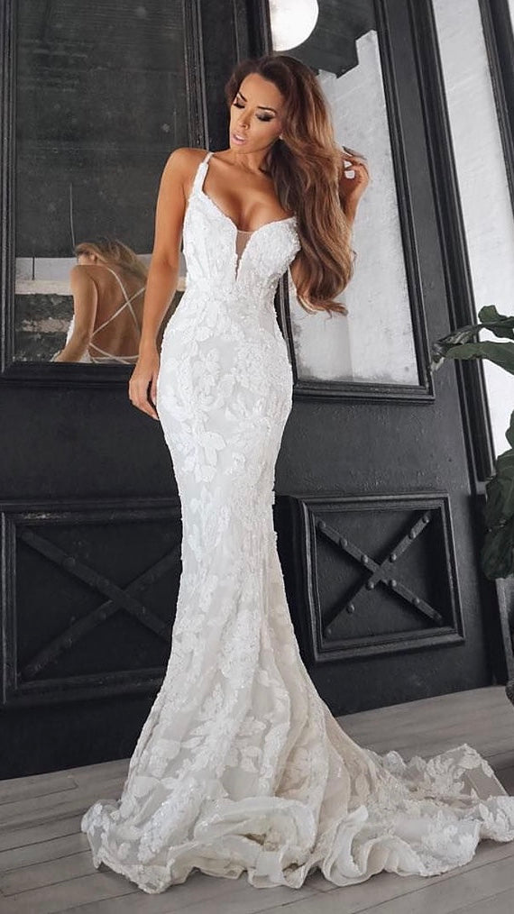 White Elegant Couture Tina Holy Gown