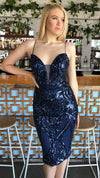 Tina Holy Sequin Elegant Cocktail Dress Venus and Apollon