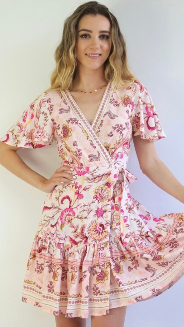 Alice Wrap Dress