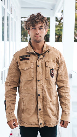 Mens Tan Parker Jacket