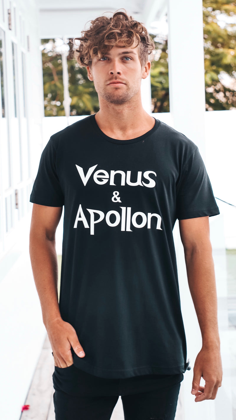 Basic Venus and Apollon Mens T-shirt