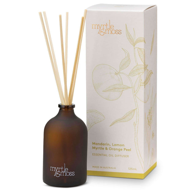 Essential Oil Diffuser: Mandarin Lemon Myrtle Orange Peel - Eden Gardens
