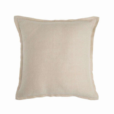 Cushion Linen 50cm Almond - Eden Gardens