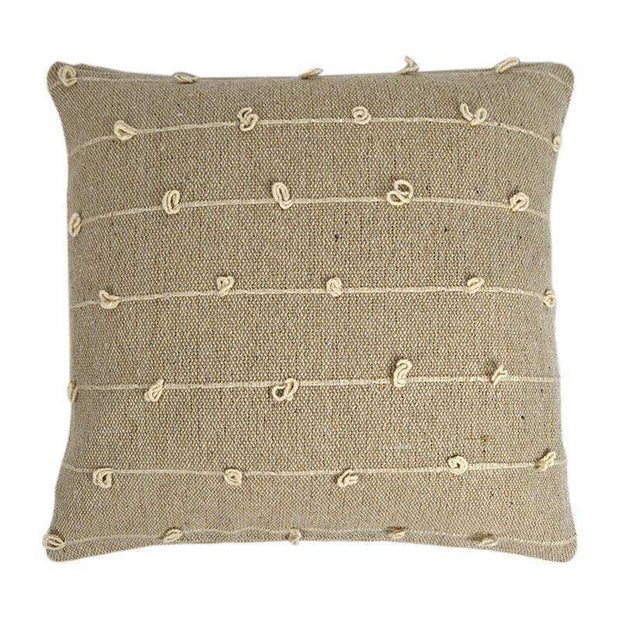 Cushion Natural 50cm Lupe - Eden Gardens