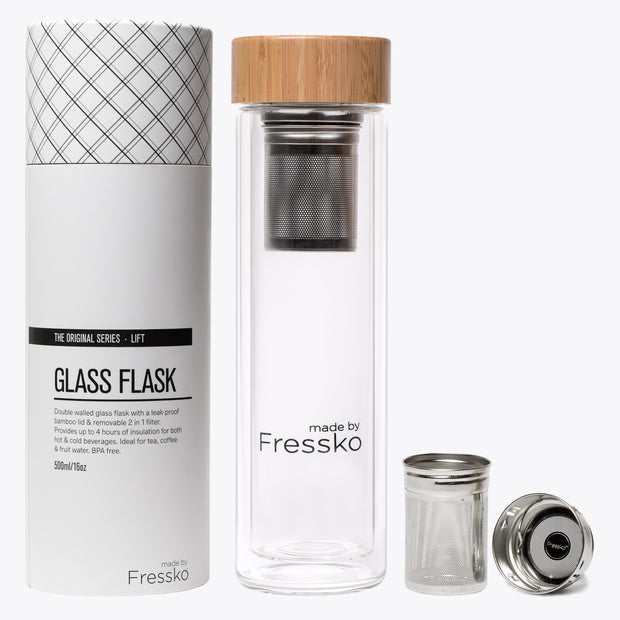 Glass Flask - Eden Gardens