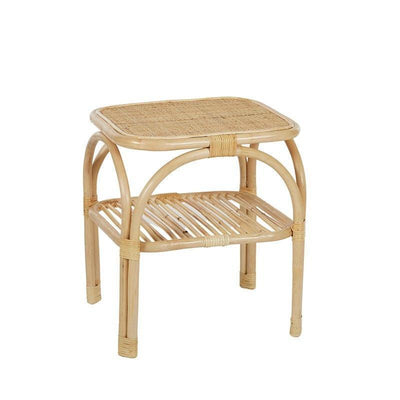 Montez Rattan Side Table - Eden Gardens