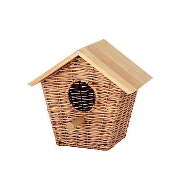 Alto Rattan Bird House 30x30cm Natural - Eden Gardens