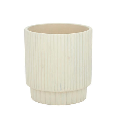 Maja Cement Pot Natural - Eden Gardens