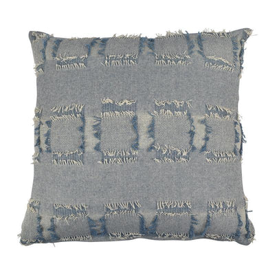 Sorrento Cotton Cushion Denim - Eden Gardens
