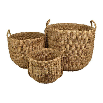 Ali Sea Grass basket Natural - Eden Gardens
