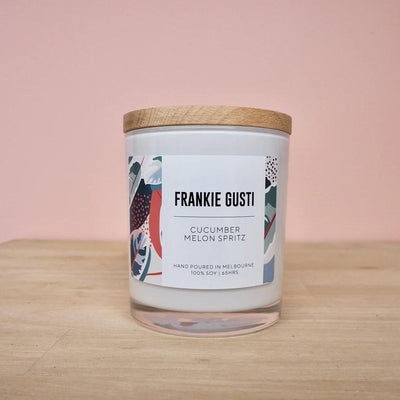Cucumber Melon Spritz Frankie Gusti Signature Collection Candle - Eden Gardens