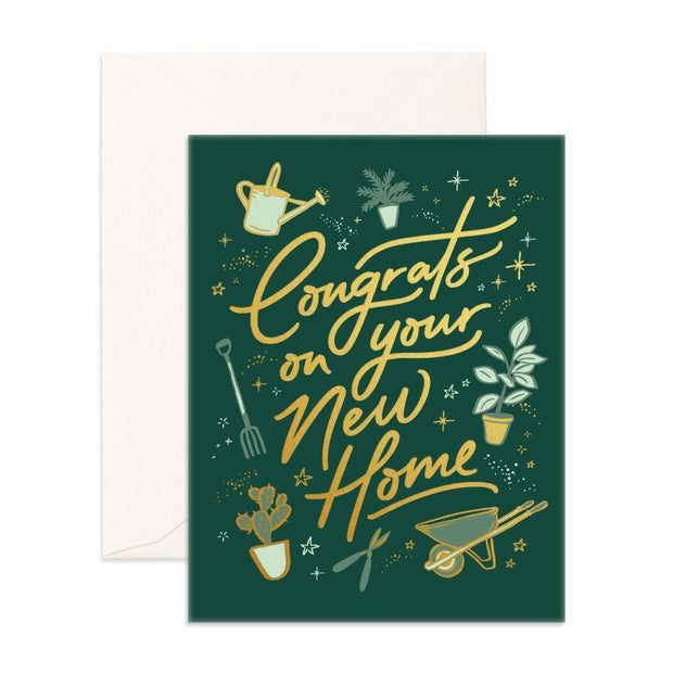 CONGRATS NEW HOME CARD - Eden Gardens