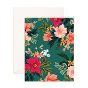 Wintergreen Blank Card - Eden Gardens