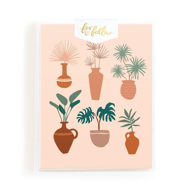 Muse Vases Cards Boxed Set - Eden Gardens