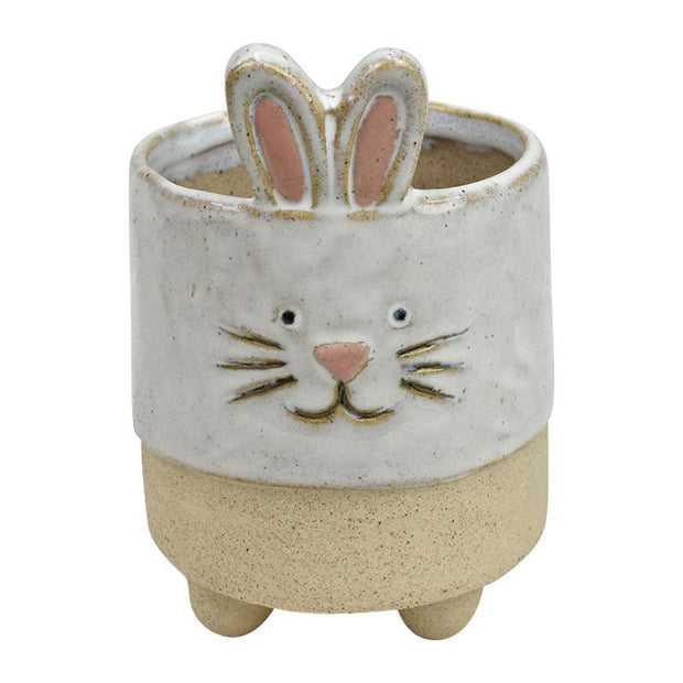 Roxie Rabbit Ceramic Planter - Eden Gardens