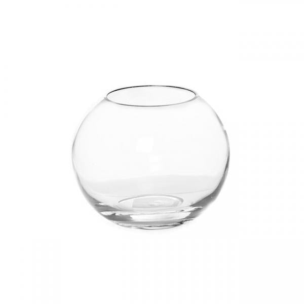 Glass Promo Fish Bowl 20cm Clear - Eden Gardens